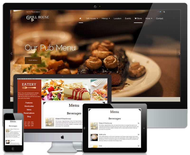 Restaurant Websites